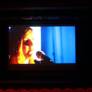 The video for Europa was played in the Institute's cinema all night :)