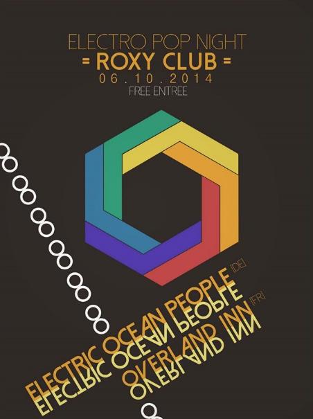 Overland Inn @ Roxy - Poster